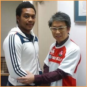 松島幸太朗 吉原会長